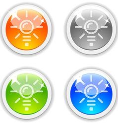Idea buttons vector
