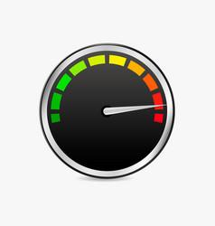 speed test meter vector image