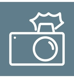 Camera clicks vector