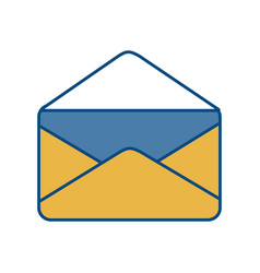 Envelope icon vector