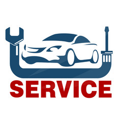 Car service business vector