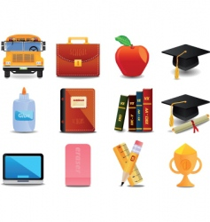 graduation college and education vector image vector image