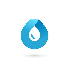 Water drop symbol logo design template icon may be vector