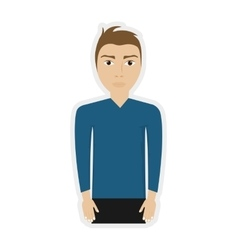 Man male avatar person icon graphic vector