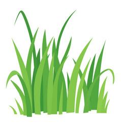 grass icon cartoon style vector image