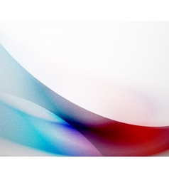 Unusual abstract red and blue wave vector image