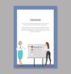 business train and two women vector image