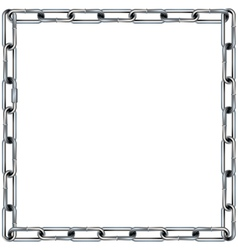 chain frame vector image