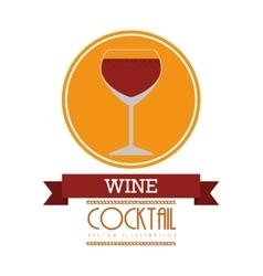 Fresh cocktail design vector