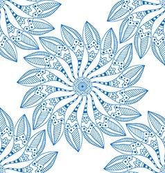 mandalas seamless pattern vector image vector image