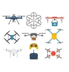 Quadcopter set vector