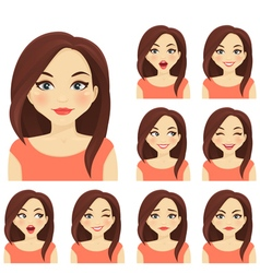 Woman expression set vector