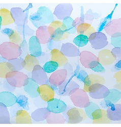 Abstract Watercolor Splashes Background vector image