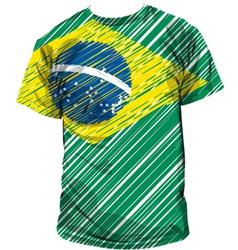 Brazilian tee vector image