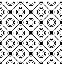 seamless pattern diagonal rounded shapes vector image vector image