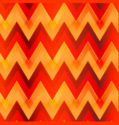 warm color zigzag seamless pattern vector image vector image