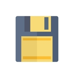 Floppy Disk Magnetic Computer Data Storage Support vector image