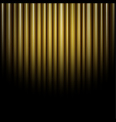 Curtain of brown background vector