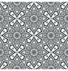 Abstract ethnic background seamless pattern vector