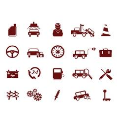 Auto Car Service Icon vector image vector image