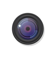 Photo camera symbol icon on white vector