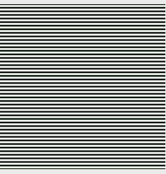 Abstract black and white background of horizontal vector
