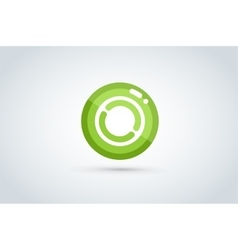 Technology circle logo vector