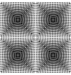 Design seamless monochrome dotted pattern vector