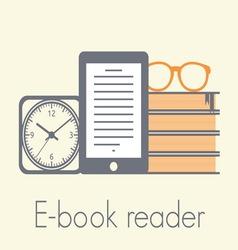 e book reader1 resize vector image