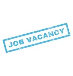 Job vacancy rubber stamp vector