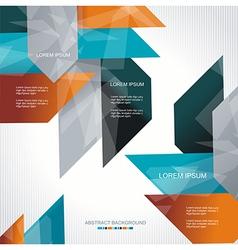 Modern colorful design vector image