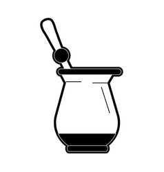 Turkish coffee beverage icon image vector