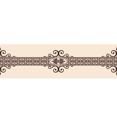 Gothic style ornament vector