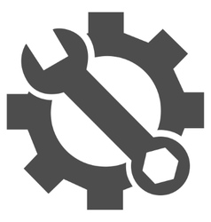Service options flat icon vector