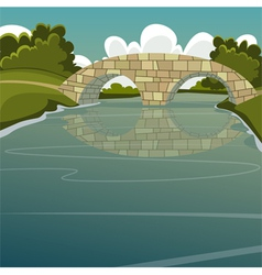 The Bridge vector image