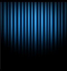 curtain of blue background vector image