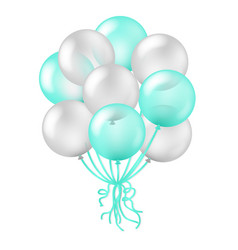 Balloon in transparent background vector