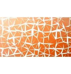 Abstract red orange gradient lowploly of vector image vector image
