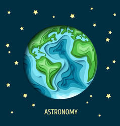 astronomy background vector image