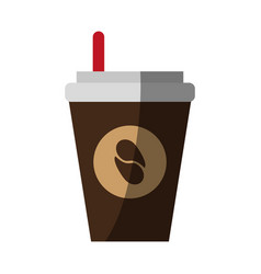 coffee drink cartoon vector image vector image