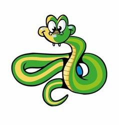 Snake cartoon vector