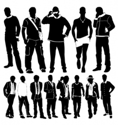 Fashion men vector