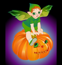Halloween pixie vector