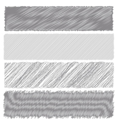 Gray diagonal strokes drawn background vector