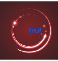 Energy abstract glow circles vector