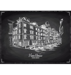 Hand drawn  venice vector