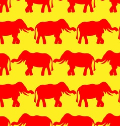 Background elephant vector