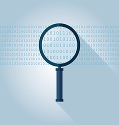 Big data binary data search vector