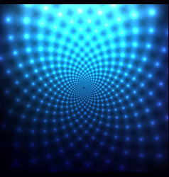 Cosmic blue abstract background vector