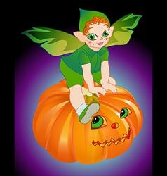 Halloween pixie vector